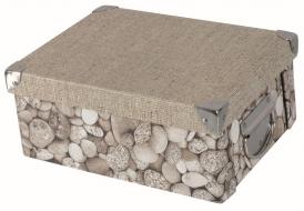 BEAUTY pudełko tekturowe składane z pokrywą 34x25x16cm