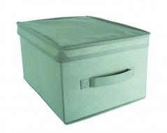 COMFORT pudełko z pokrywą 28x36x20cm grey