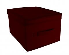 COMFORT pudełko z pokrywą 28x36x20cm red