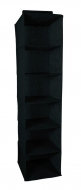 COMFORT wiszący organizer do szafy 30x30x120cm black