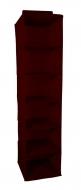 COMFORT wiszący organizer do szafy 30x30x120cm red