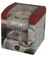 PERFUME Zestaw 3 miękkich pachnących poduszeczek, sea salt & coconut