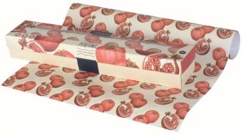 PERFUME Zestaw 6 arkuszy papieru zapachowego  40x60cm, citrus pomegranate